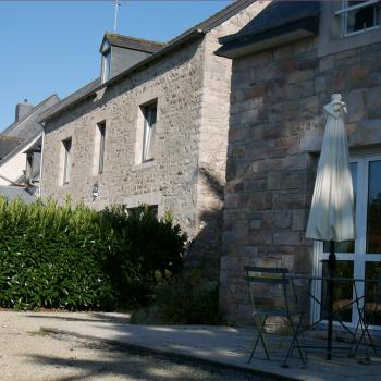 Les Bruyères d'Erquy vista desde las habitaciones de los huespedes