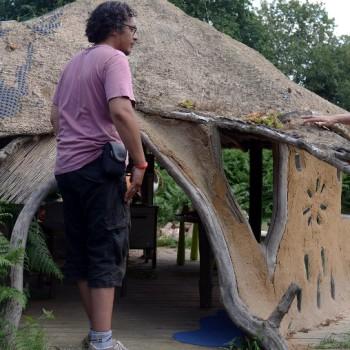 Cabane vue de l'exterieur
