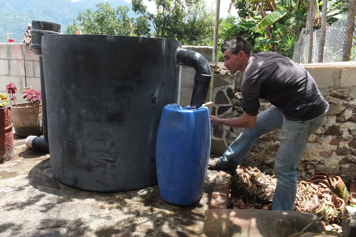 Installation of the Biodigester