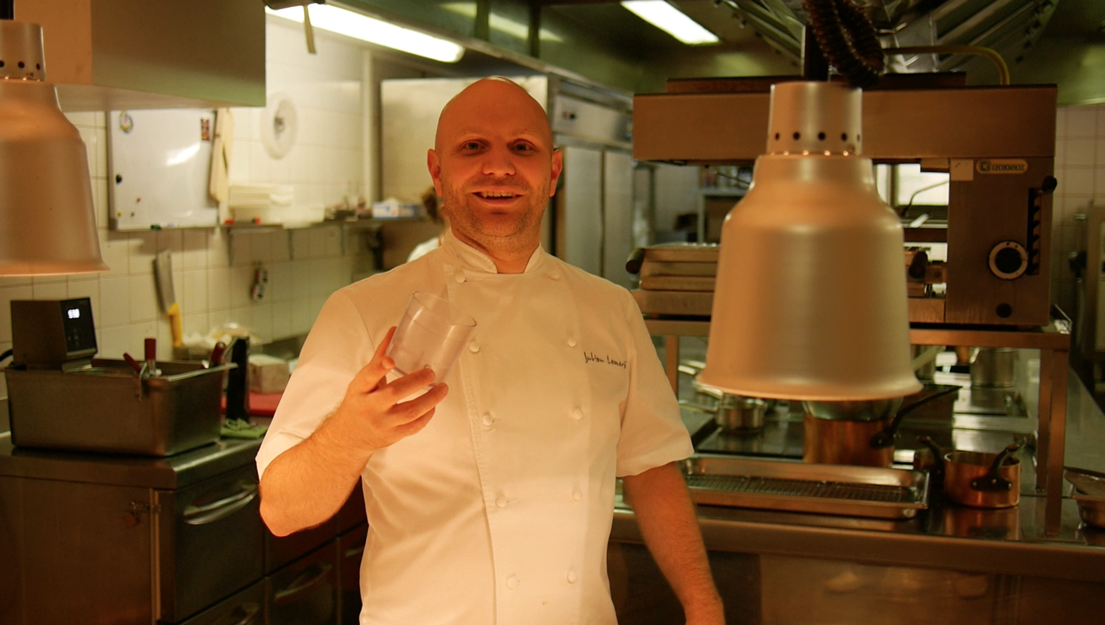 Julien Lemarié, chef at La Coquerie*