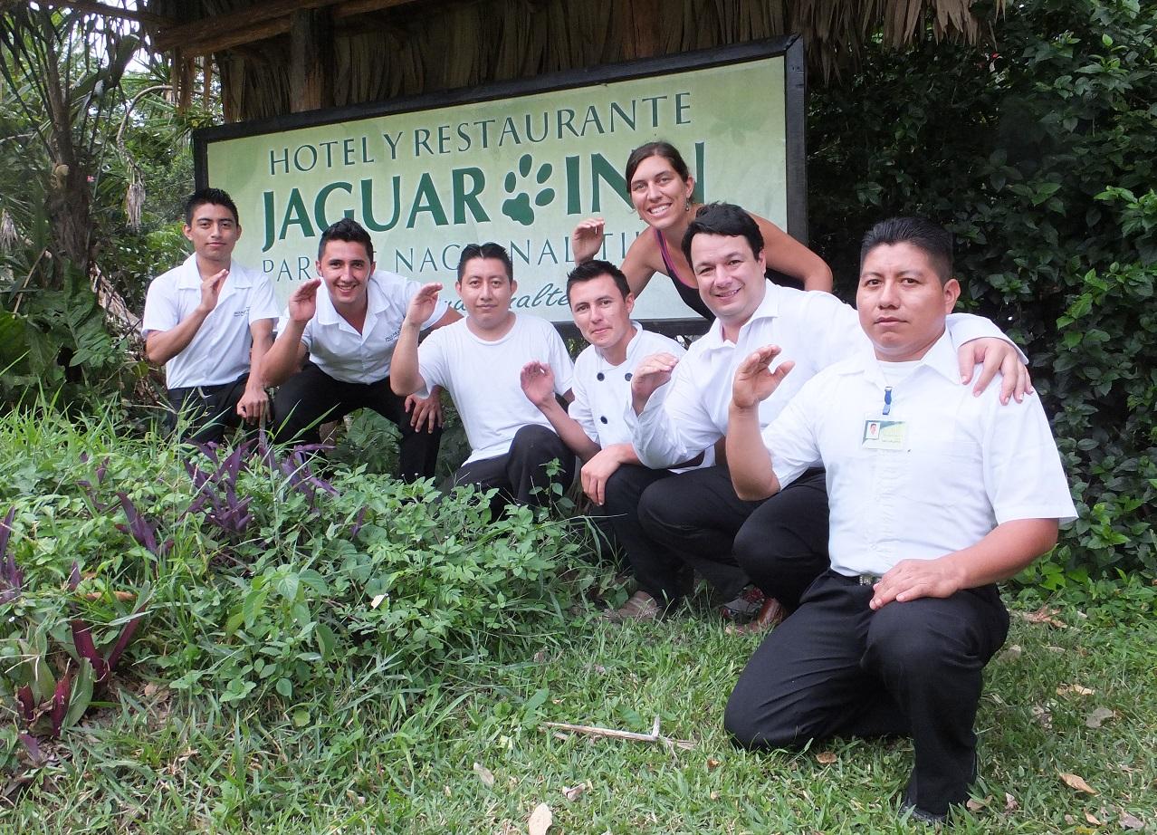 Hotel Jaguar Inn Tikal Team