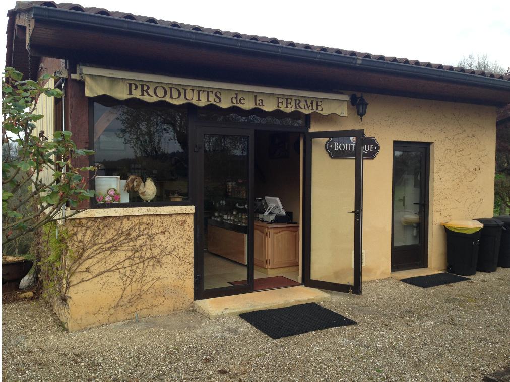 La boutique de La Rhonie