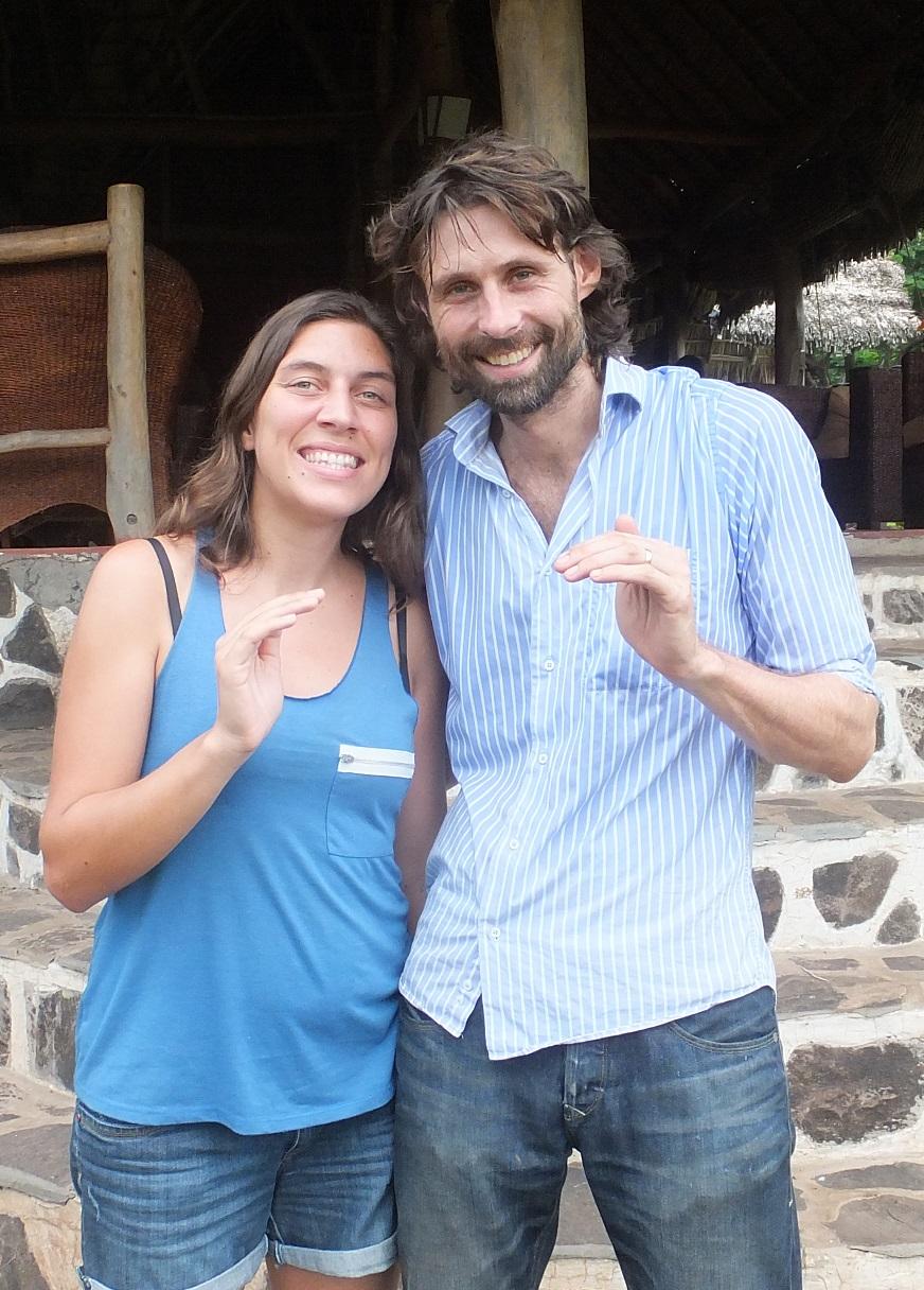 Florie et Martjin Totoco Ecolodge Nicragua