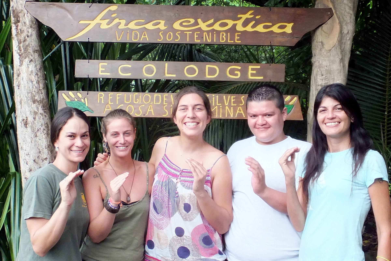 Costa Rica avec Gaby Eva Romas Monica de Finca Exotica