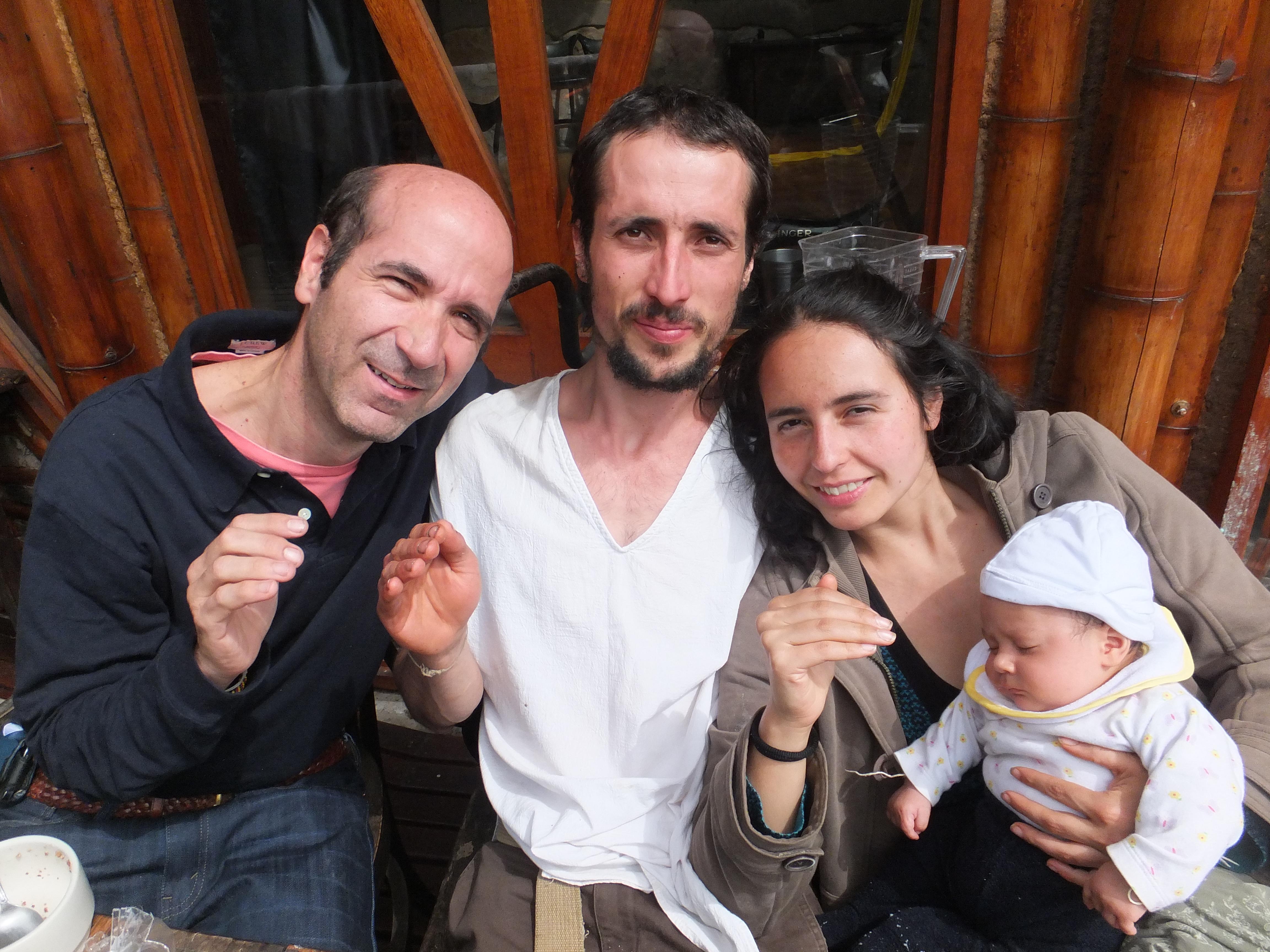 Pedro, Felipe, Maju y Alun - La Minga