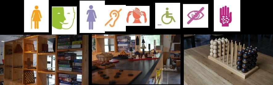 Jeux accessibles pour tous