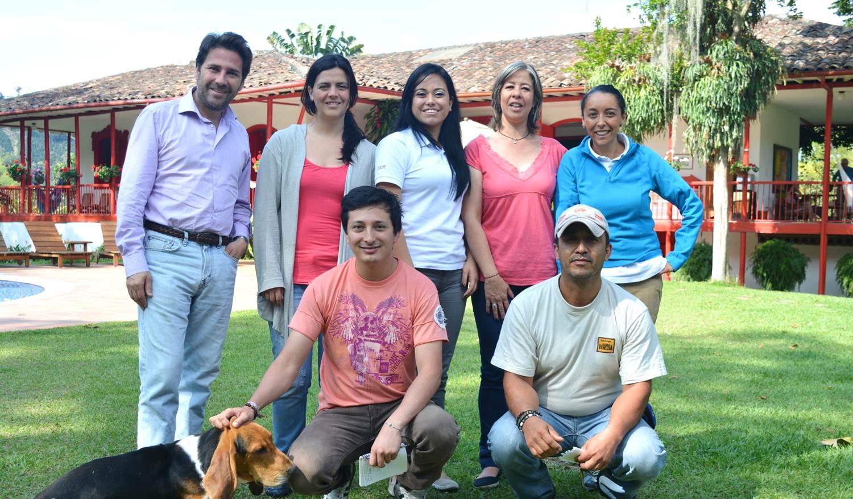 Equipo de Hacienda Venecia Colombia