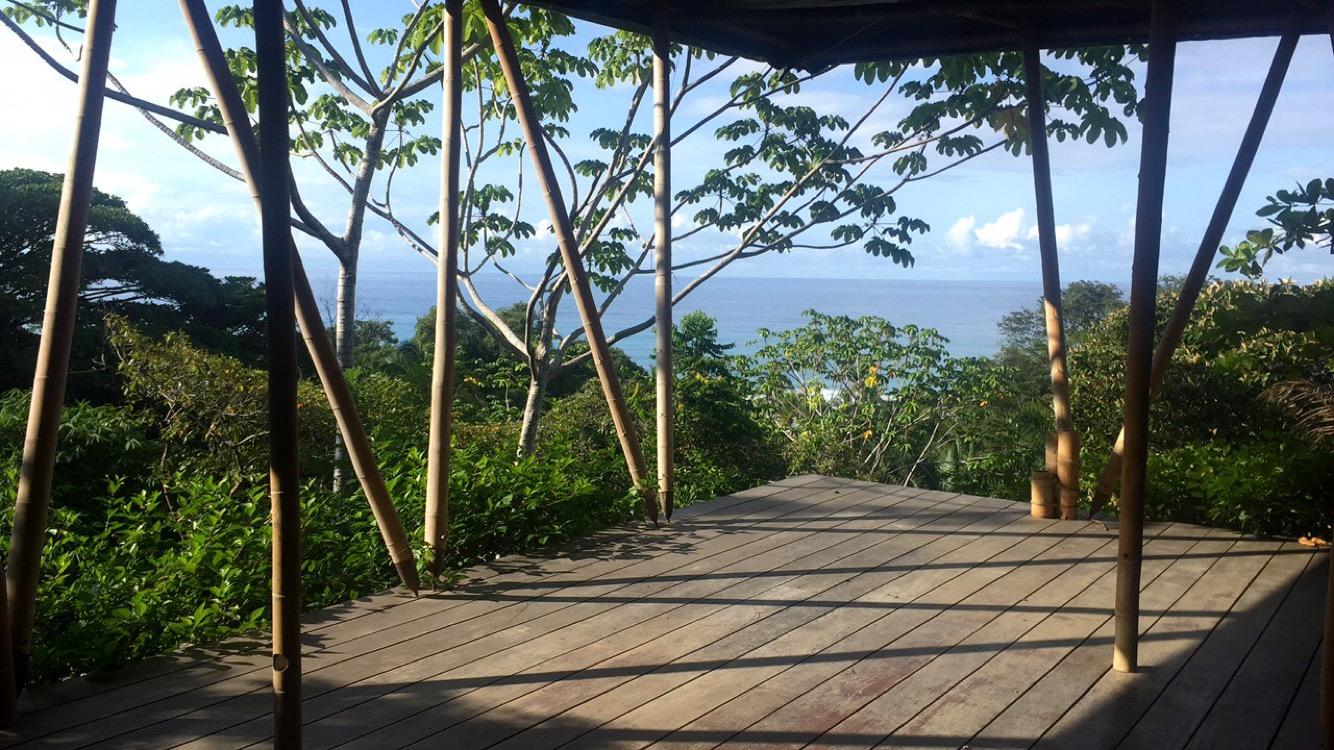 Vue de la Terrasse, Finca Exotica Ecolodge, Costa Rica