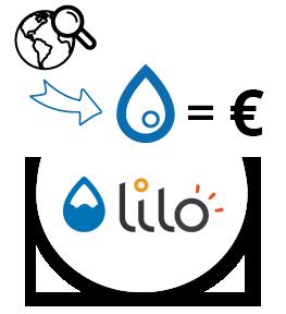 Lilo et les gouttes d'eau pour les projets sociaux et environnementaux