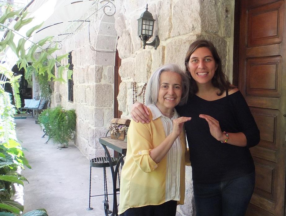 Florie et Esperanza Casa Xochicalco Honduras