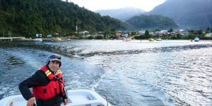 Claudio Drakkar Turismo Marinero Puerto Cisnes Patagonia Chile