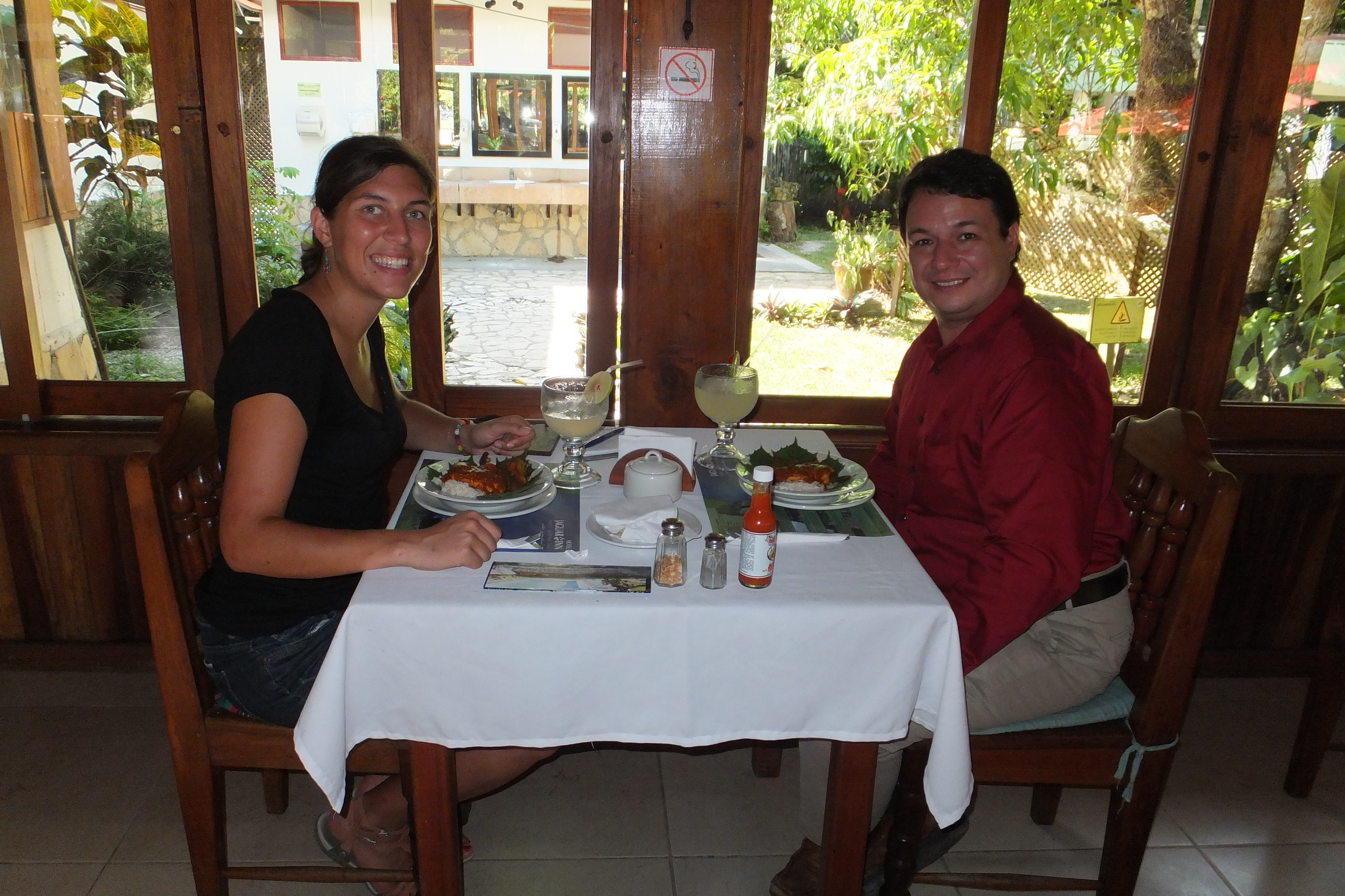 Lunch Time at Hotel Jaguar Inn Tikal