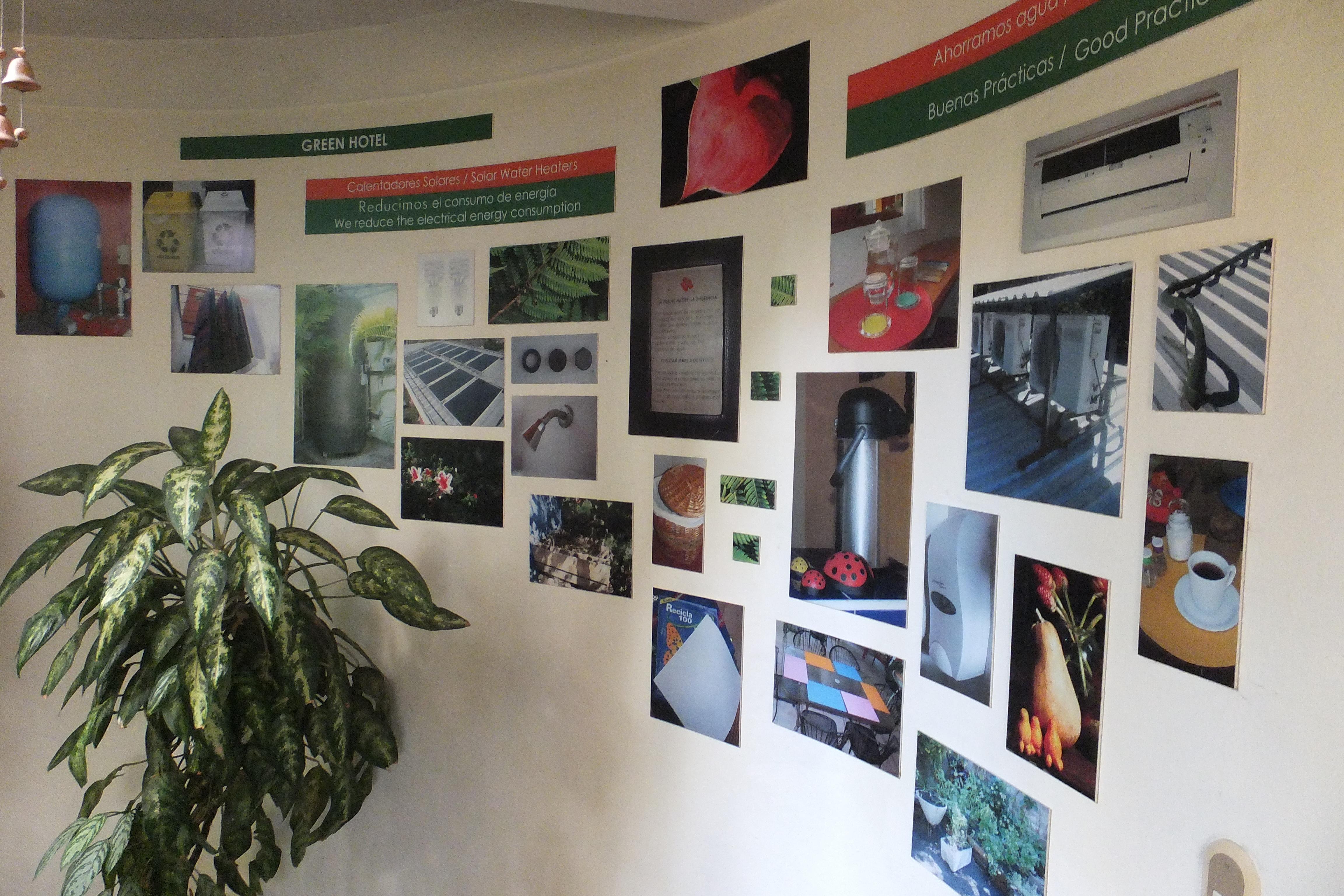 Arbol de Fuego Eco-Hotel, Poster de Bonnes Pratiques
