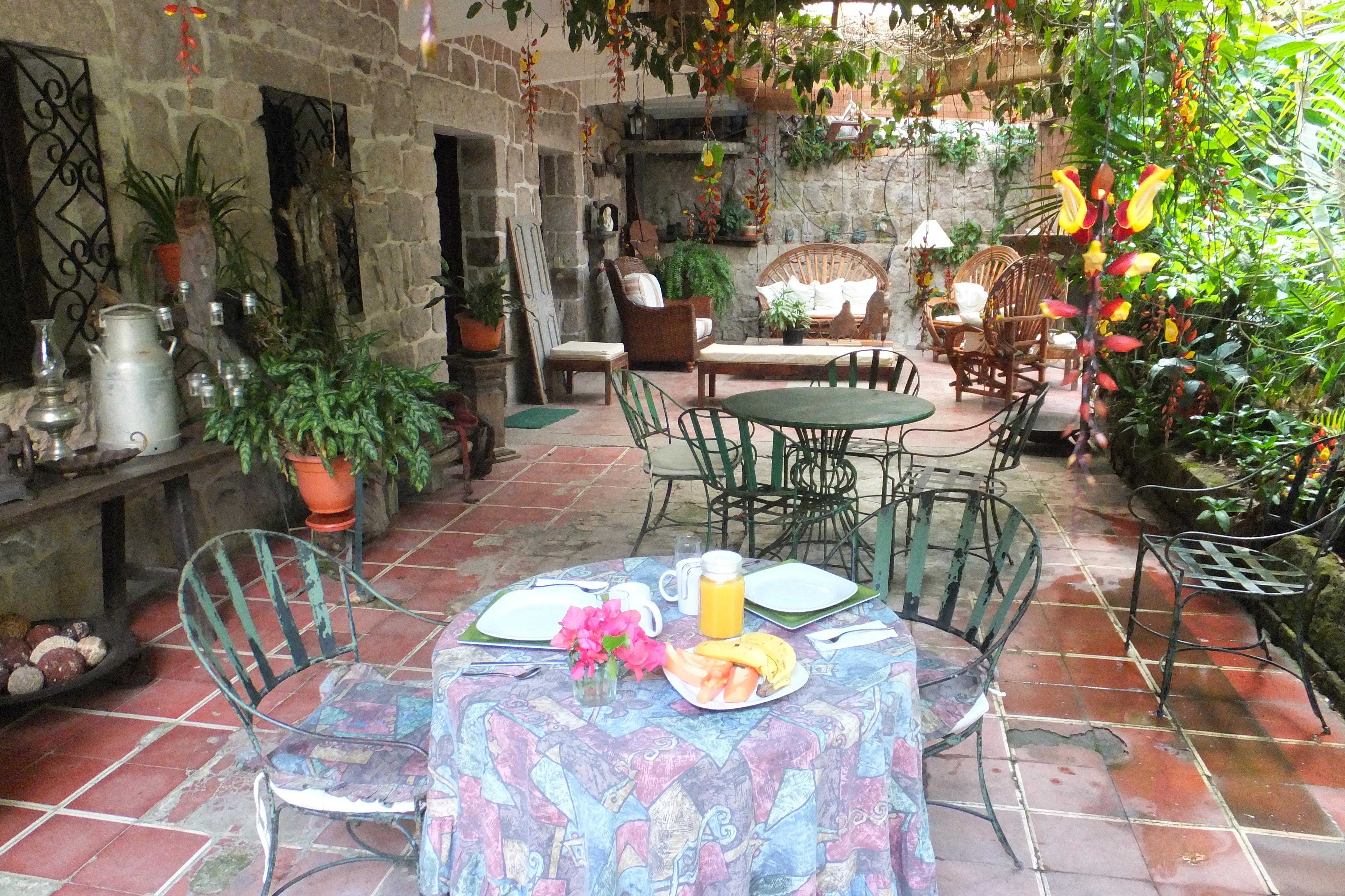 Petit Déjeuner, Casa Xochicalco, Tegucigalpa, Honduras