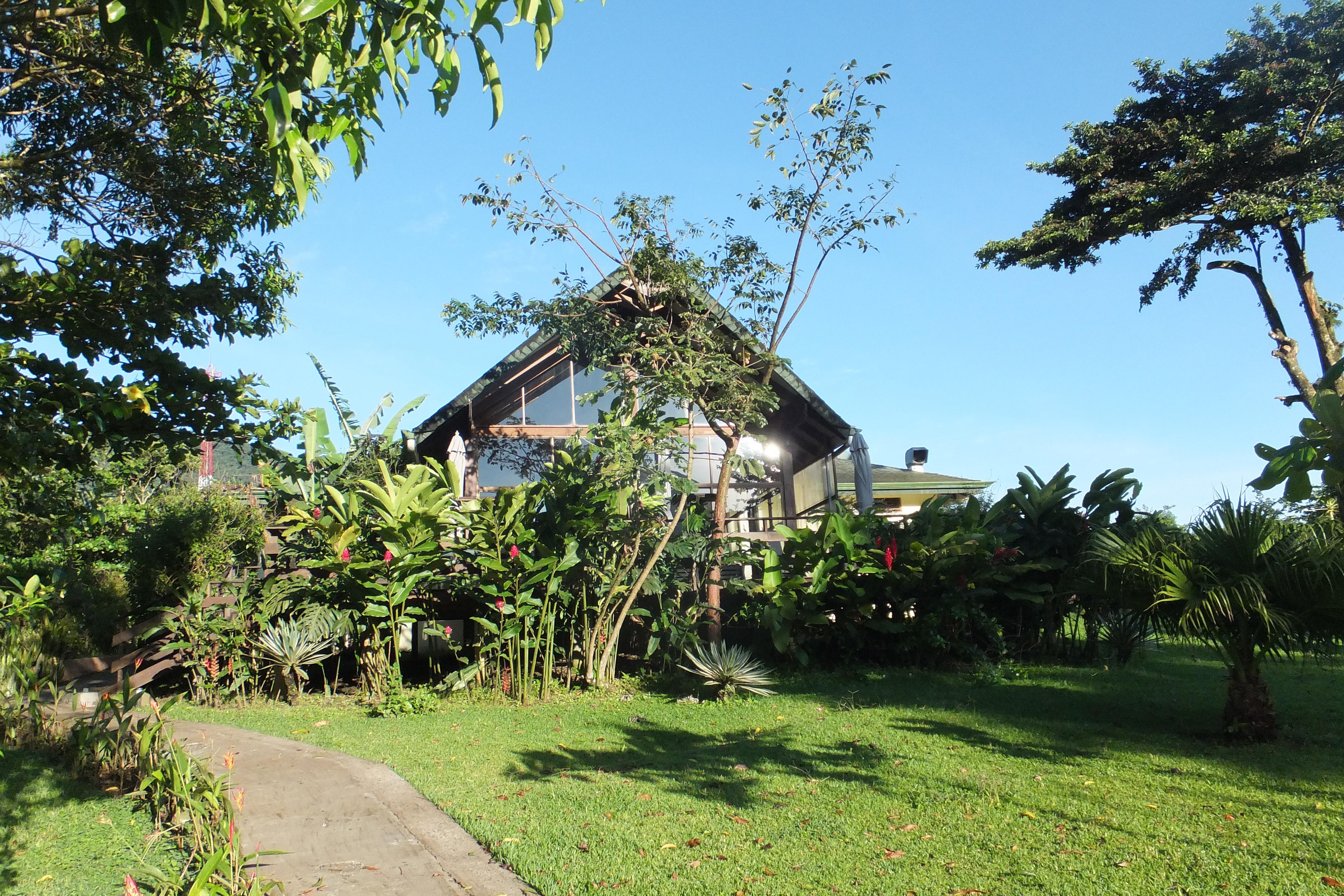 Vue Extérieure du Restaurant de Tenorio Lodge, Costa Rica