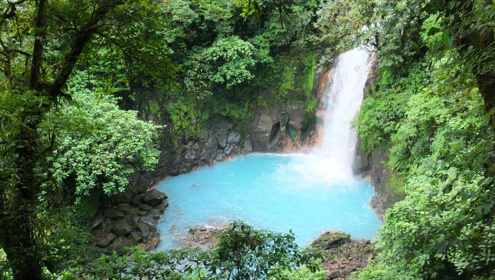 Cascade Rio Celeste, Costa Rica