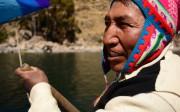 Portrait d'un homme quechua