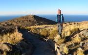 sur l'ile Amantani, Lac Titicaca, Pérou
