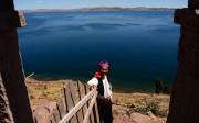 sur l'ile de Taquile, lac titicaca
