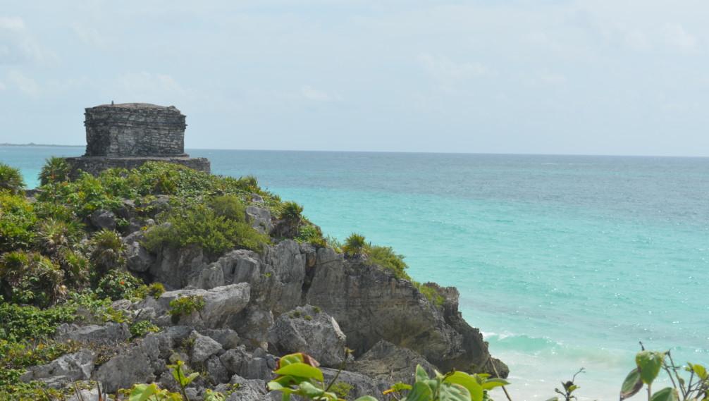 Ruines de Tulum au Mexique