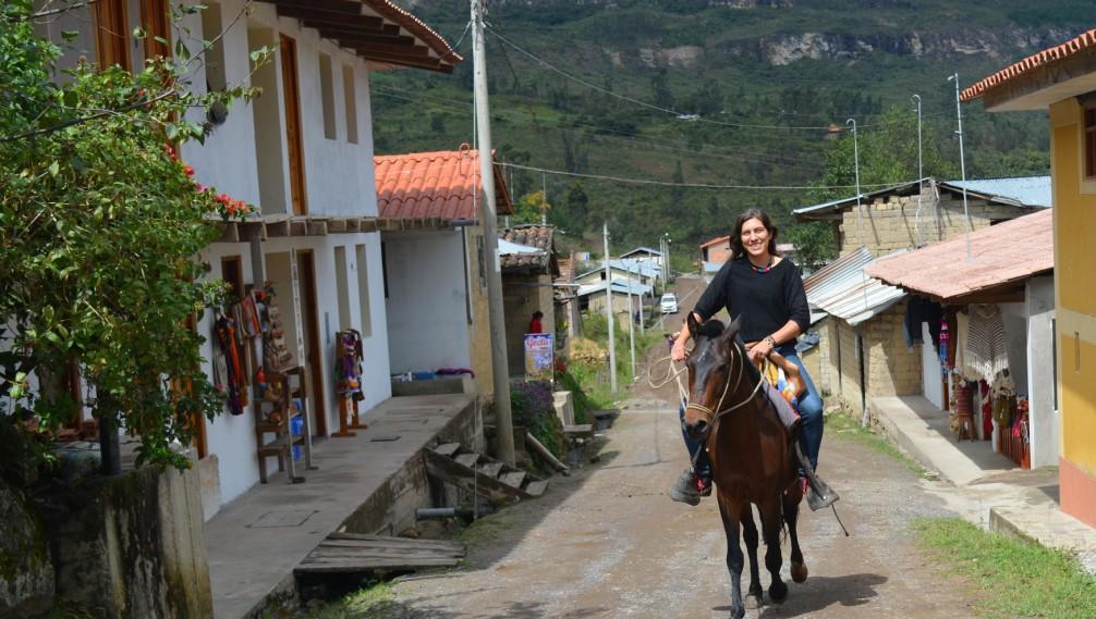 Cascade de Gocta, Village Cocachimba, Nord du Pérou
