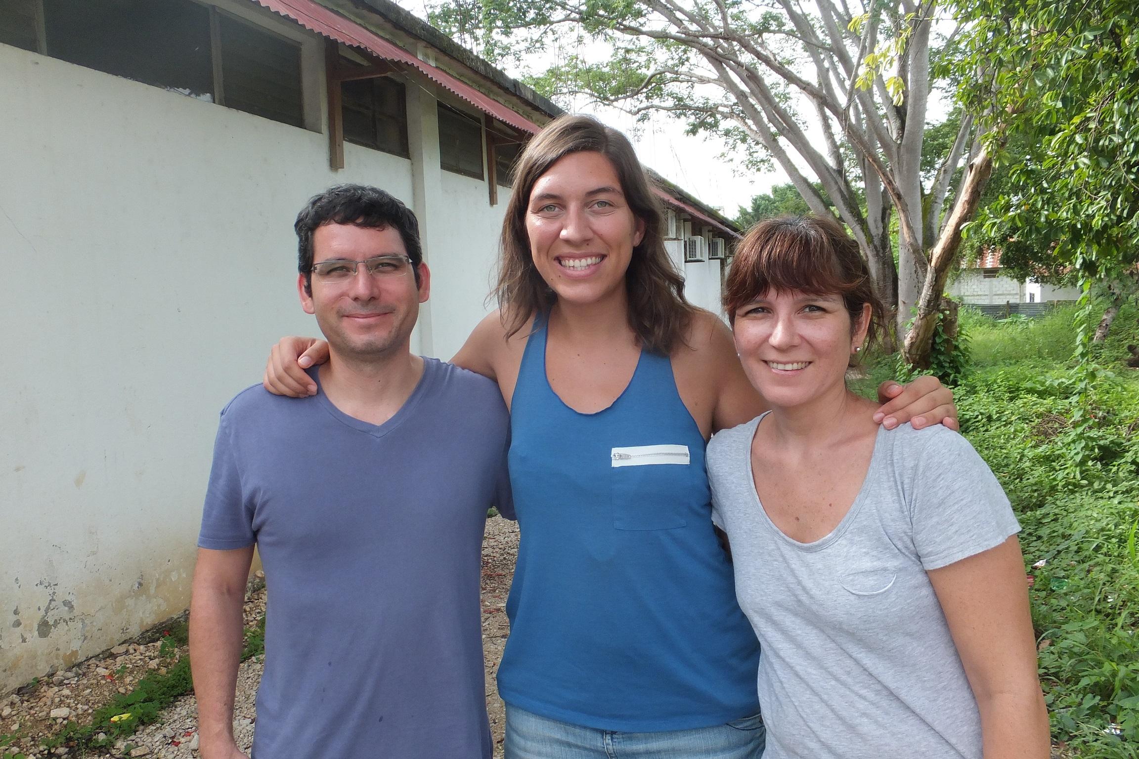 Jaguar Inn avec Edmundo et Natalia