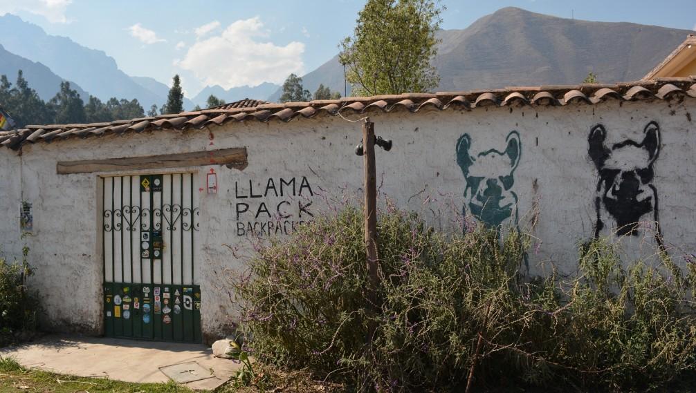 Llama Pack Project, Urubamba, Vallée Sacrée, Perou