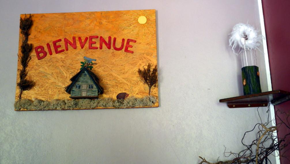 Bienvenue, Nid dans les Bruyères