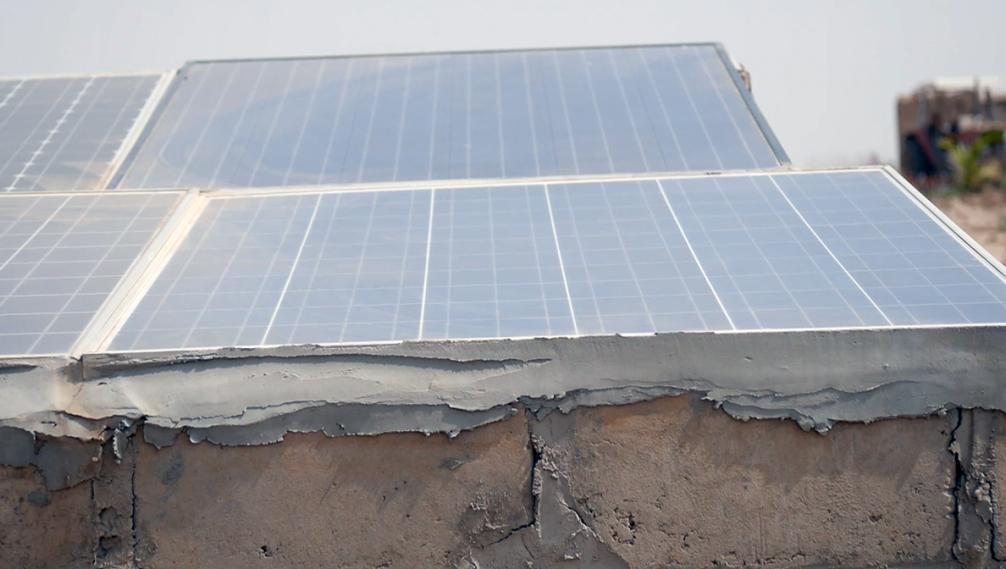 Panneaux solaires au Sénégal