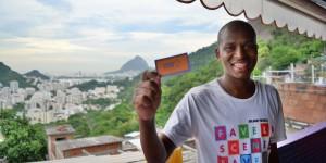 Gilson Fumaca, Favela Scene, Santa Marta, Rio de Janeiro