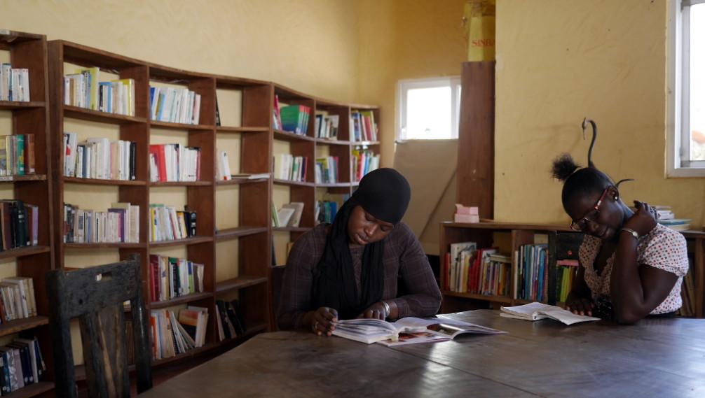 Bibliothèque, La Source aux Lamantins