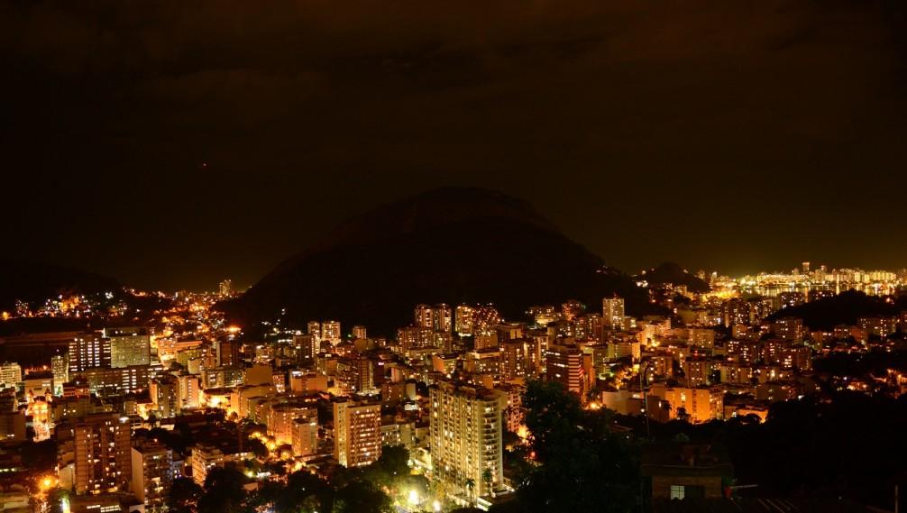 Good night from Santa Marta, Rio de Janeiro, Favela Scene