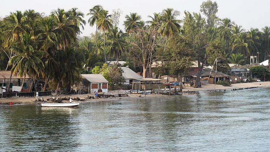 Arrivée en Casamance