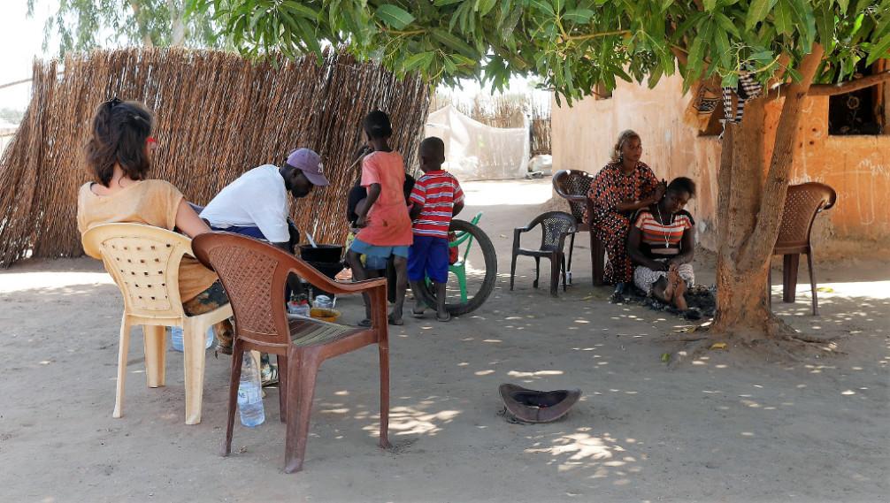 Corte limpio, Senegal