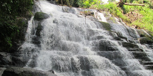 Waterfall in the 18 mountains area