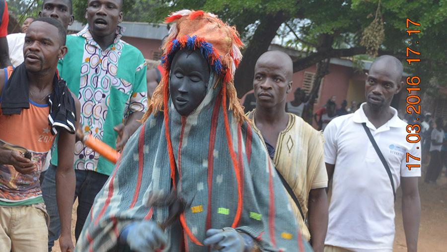 Fête des masques en Côte d'Ivoire