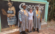 At the foot of the waterfalls with EcoTourism Côte d'Ivoire