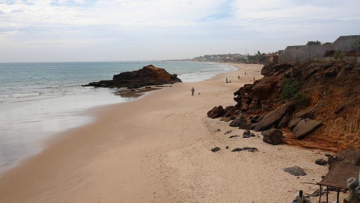 Plade de Toubab Dialaw, depuis Sobo Bade