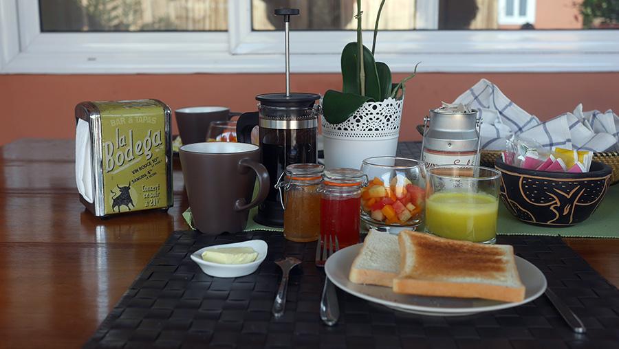 Breakfast Chez Delphy