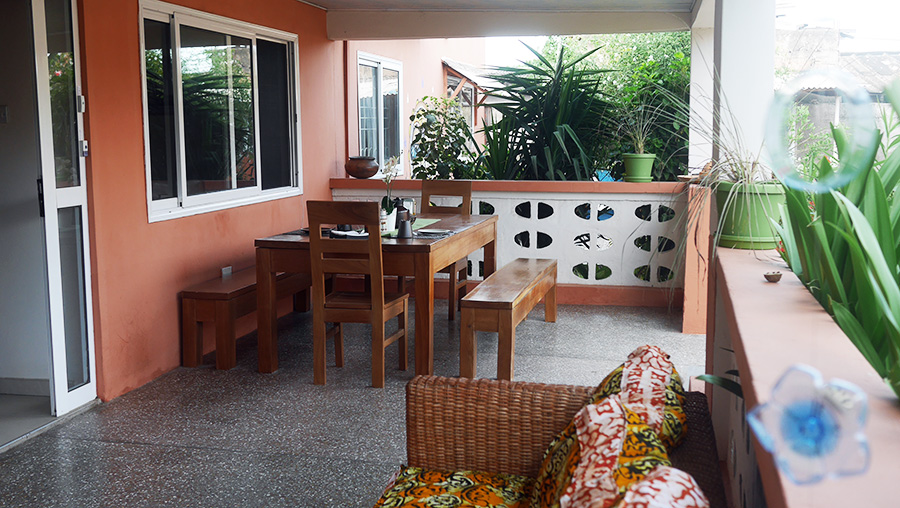 La terrasse cocoon Chez Delphy