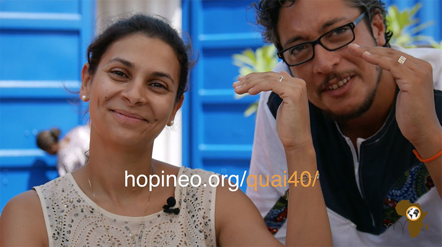 Hopineo au Quai 40