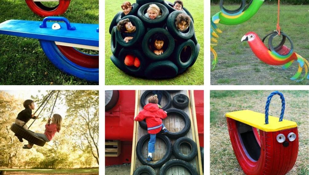 Jeux pour Enfants en pneus