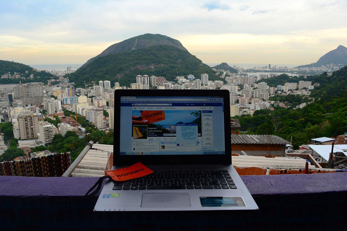 HopAmbassador travail HopTag Rio de Janeiro