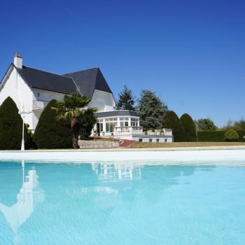 La piscine de la Villa Ruffa